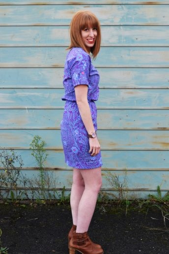 A very special Tilly and the Buttons Bettine Dress