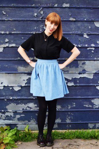 A cheeky little Brumby skirt