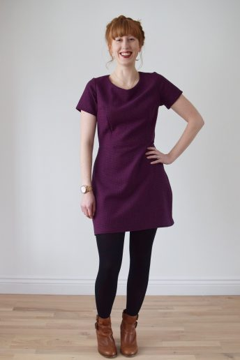 A Cosy-Cute Woollen Sigma Dress