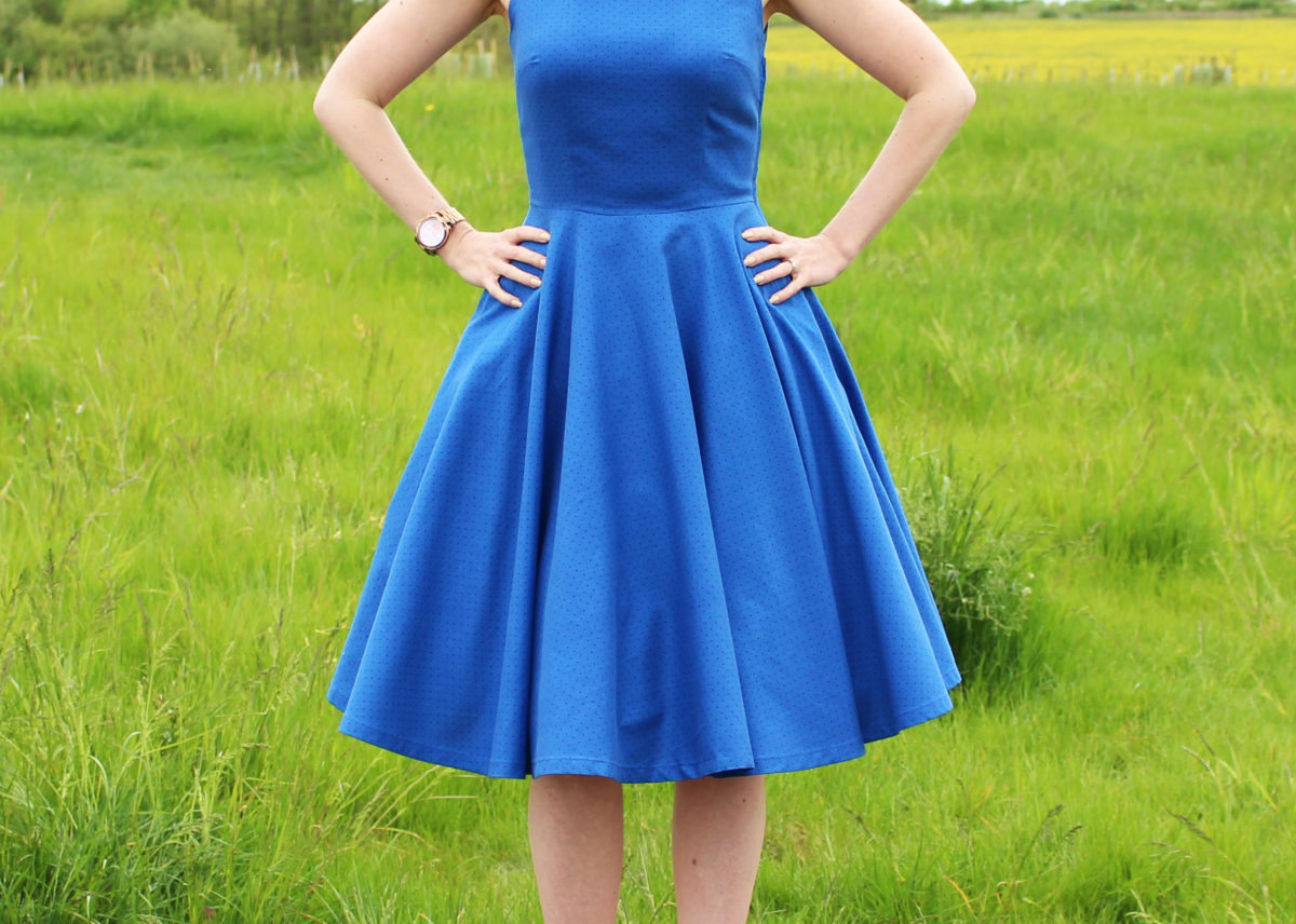 The Big Vintage Sew-Along ~ My Swinging 60's Colour Pop Dress