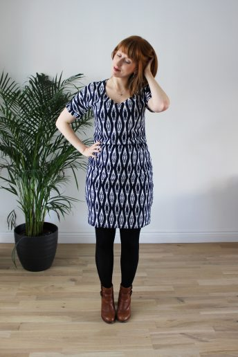 An Ikat Bettine, and a little baby bump!