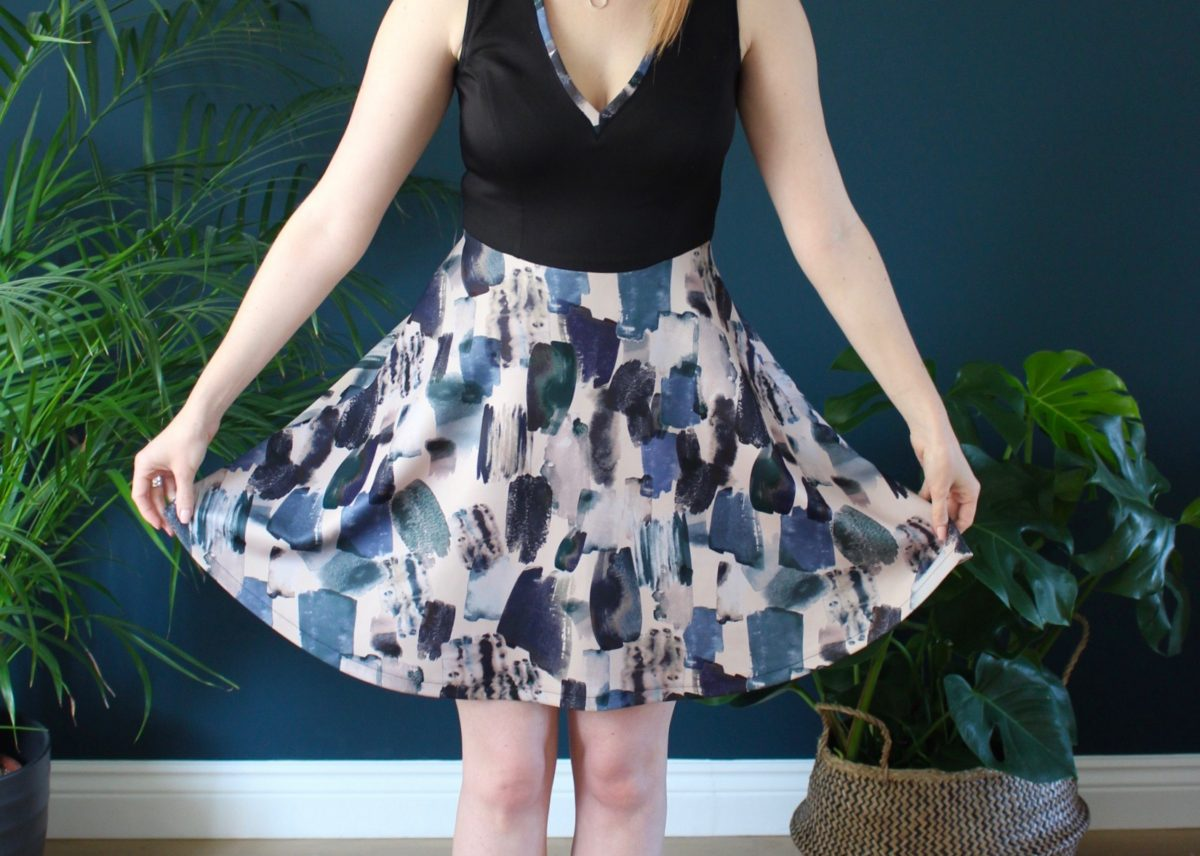 A Scuba Deer & Doe Zephyr Dress