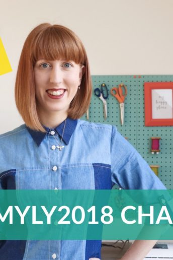 My Sewing Story for the #SMYLY2018 Challenge