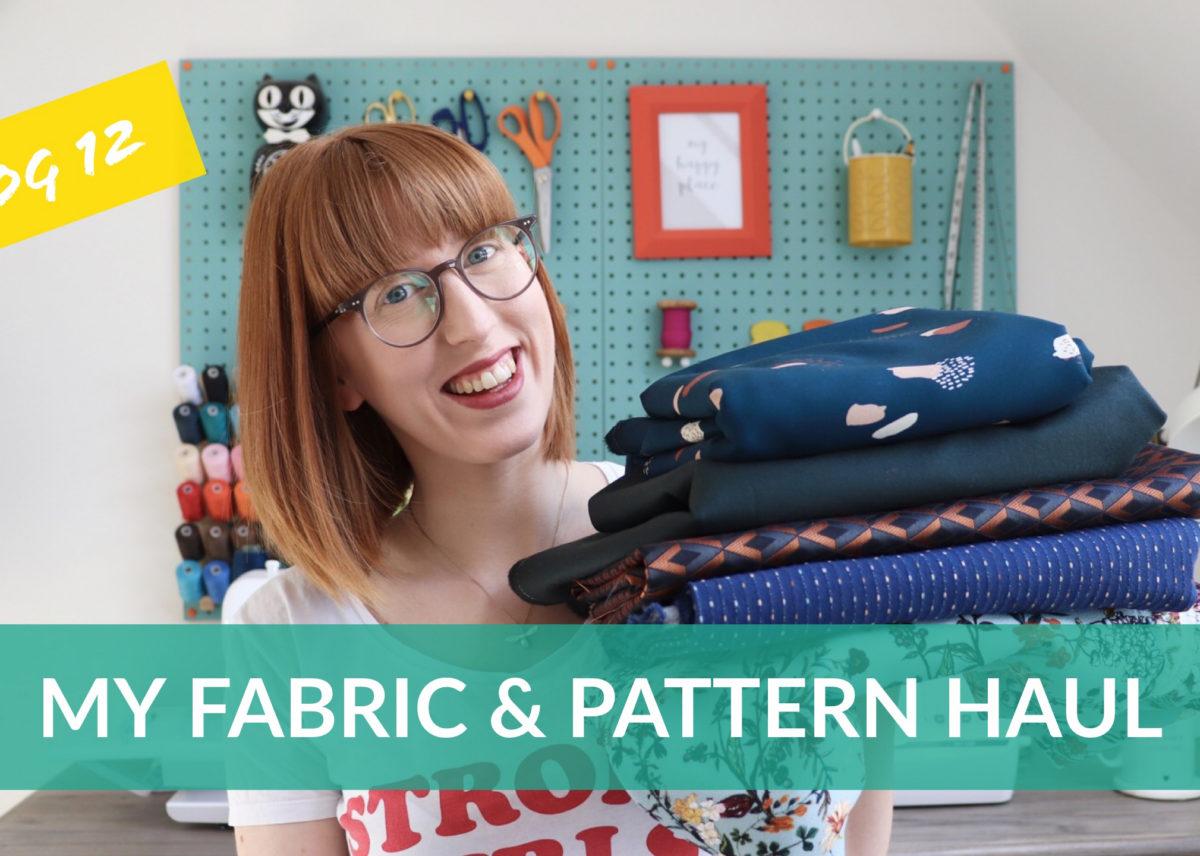 My Latest Fabric Haul in Vlog 12