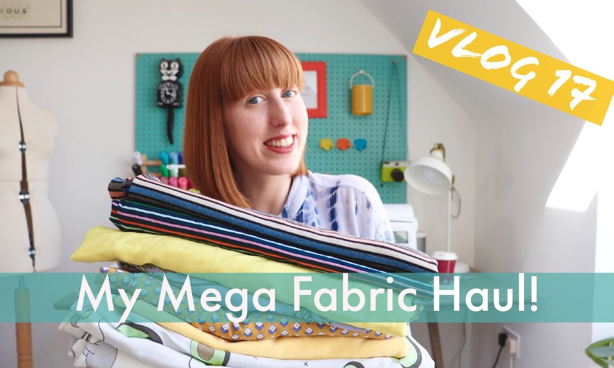 Mega Fabric Haul Vlog!