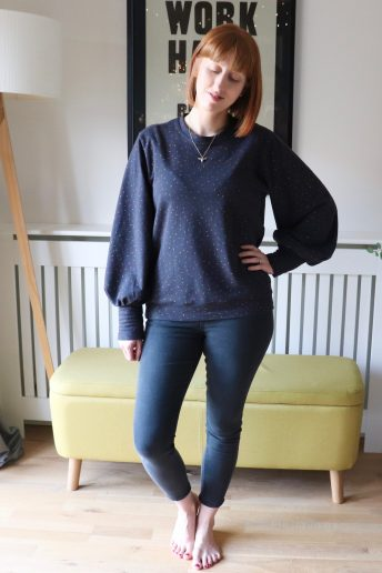 Another I Am Patterns Zebre Sweater - My SewCam Make Finished!