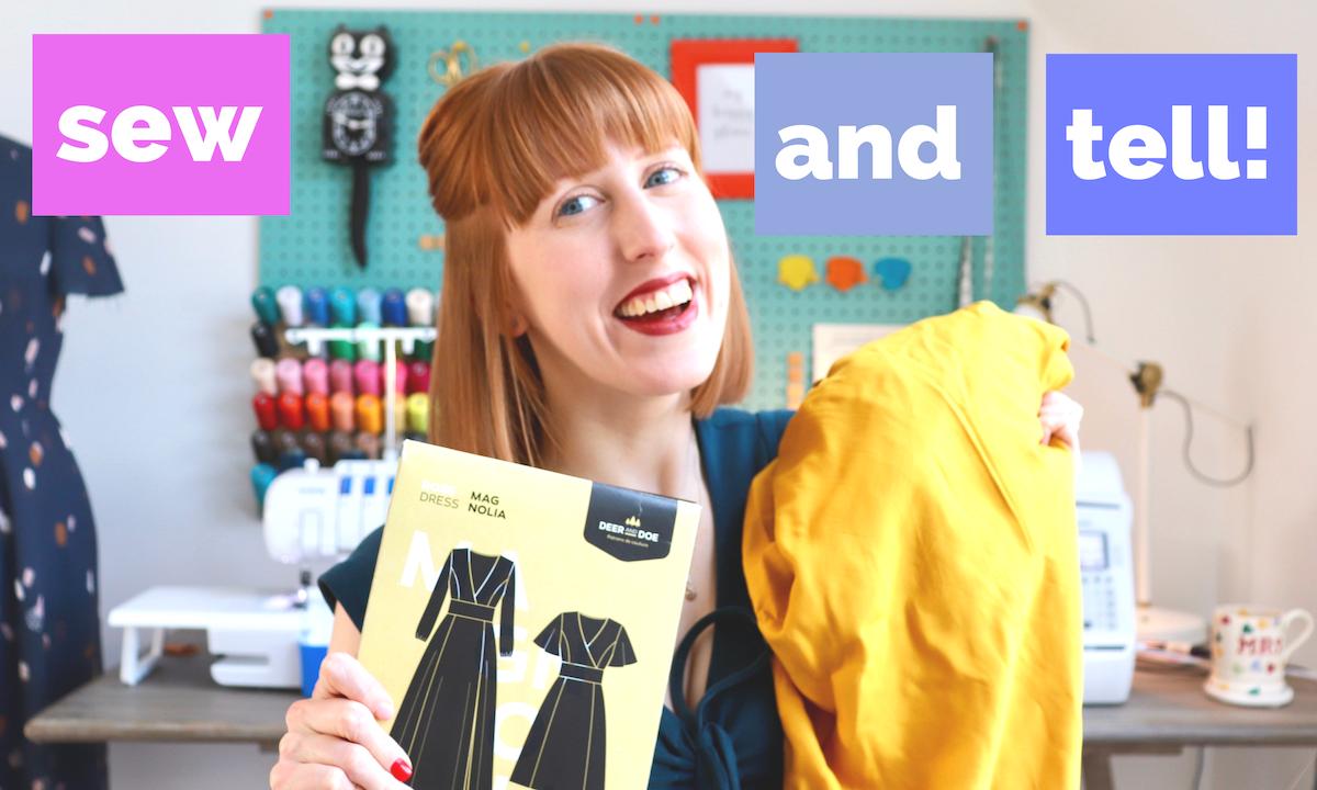 New Sew & Tell Vlog!
