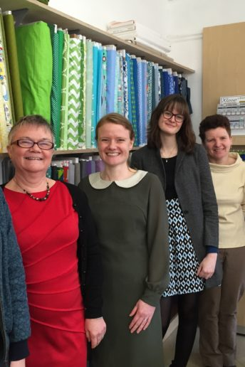 A lovely little sewing meet