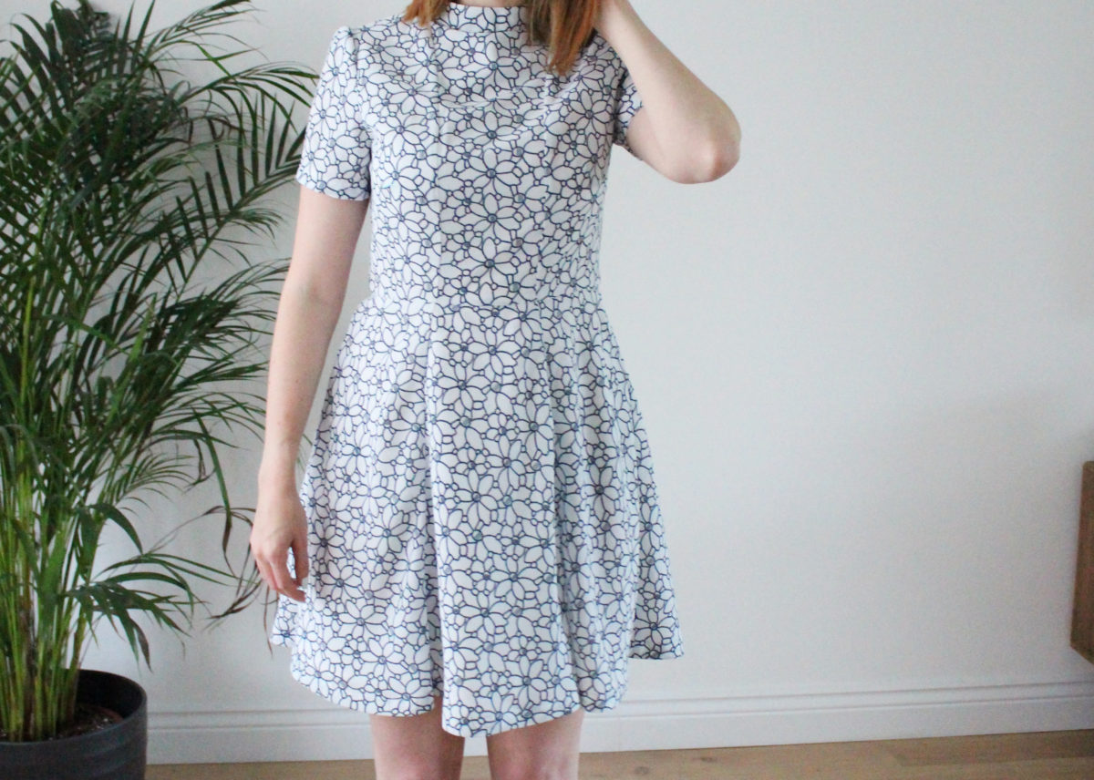 A swishy, summery Martha dress