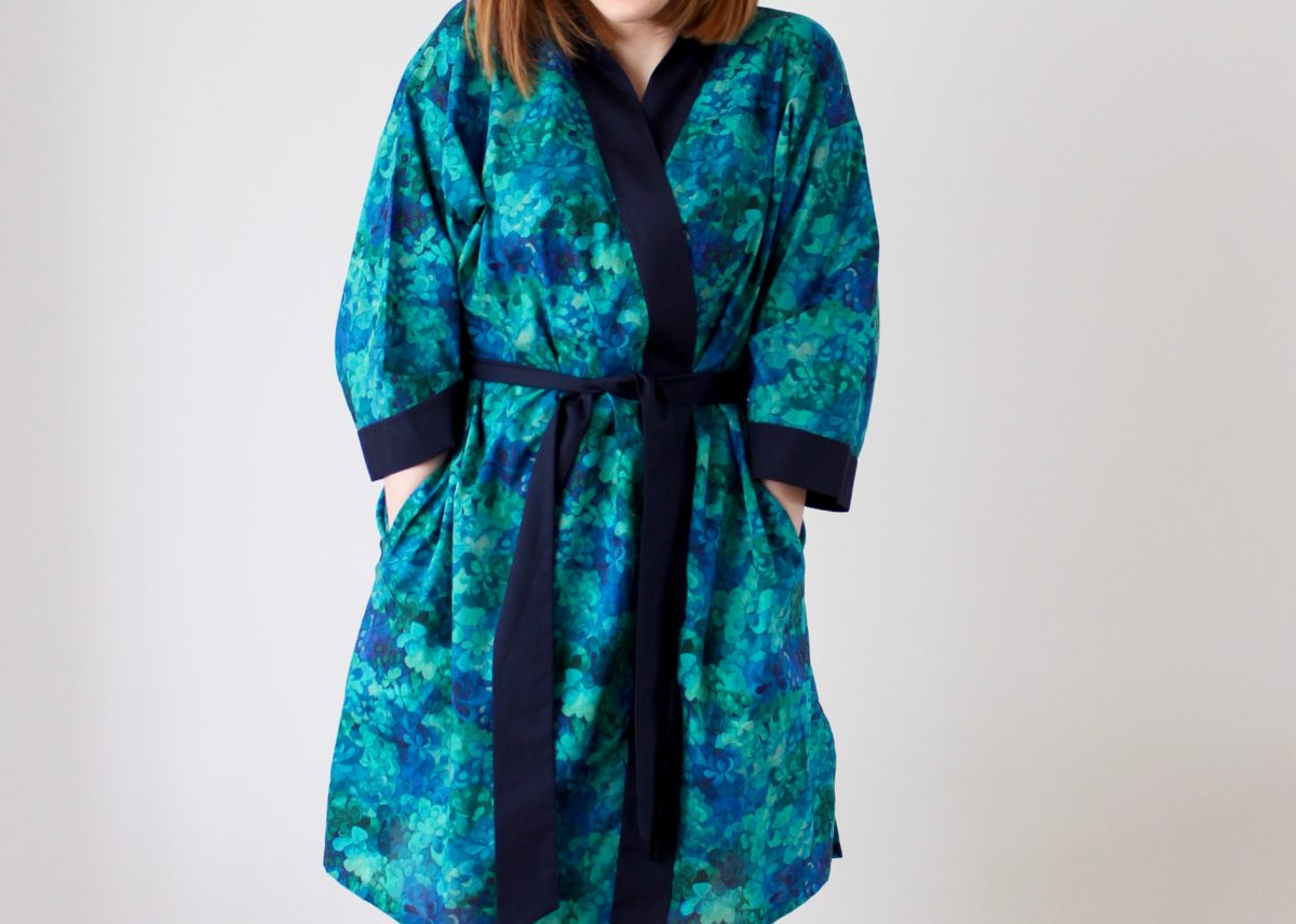 A Luxury Liberty Lightweight Dressing Gown