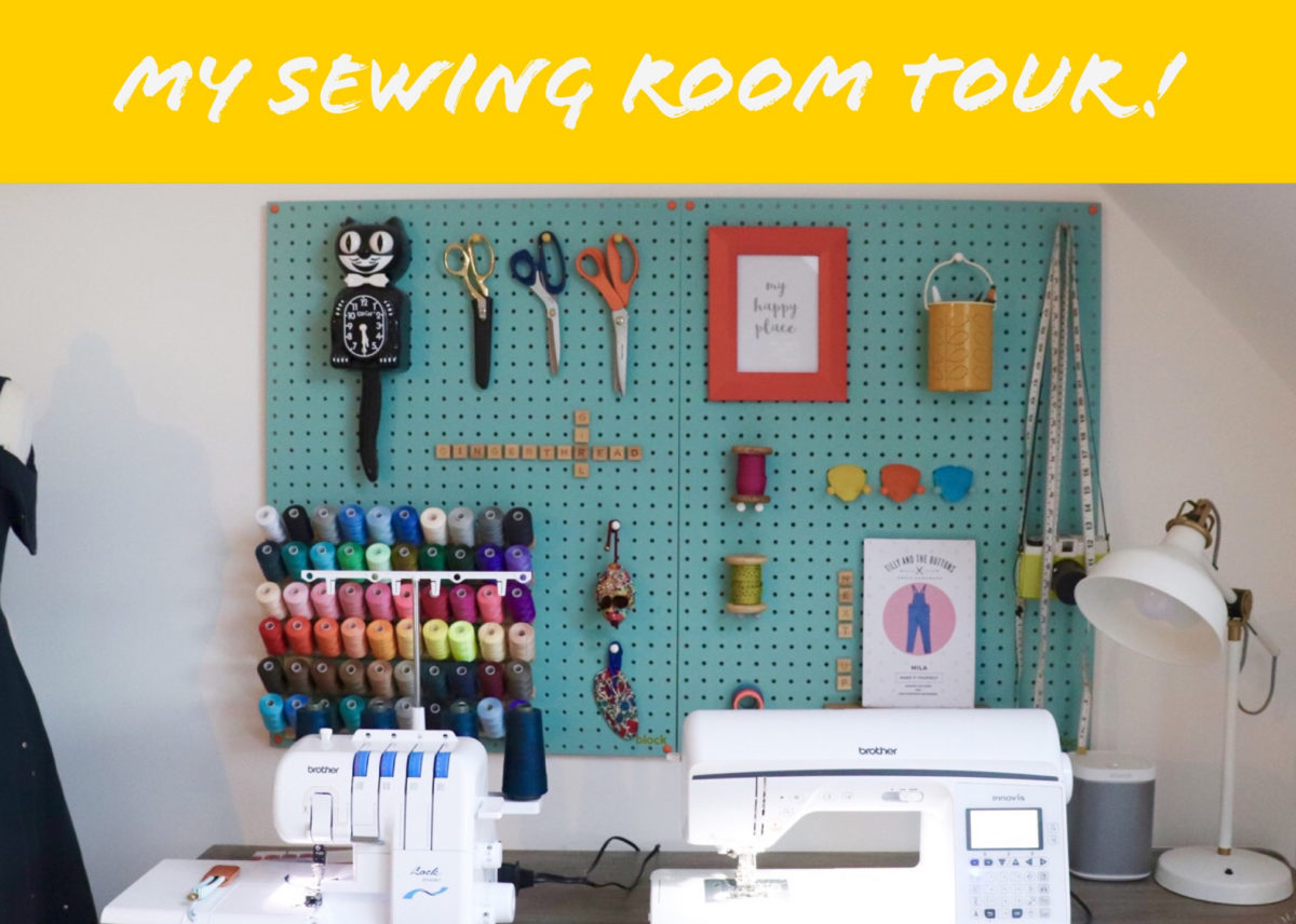 My Sewing Room Tour Video