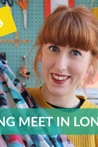 Vlog 13: My trip to London to meet sewing pals