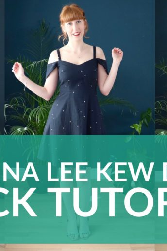 Nina Lee Kew Dress Hack Tutorial Video