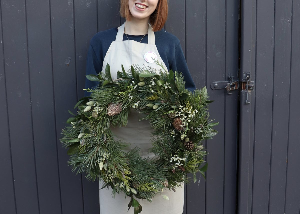 Christmas Wreath Workshop Fun!