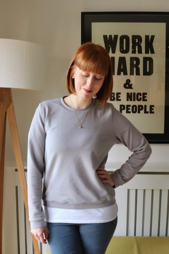 A Named Sloane Sweatshirt with Atelier Brunette Gorgeousness!