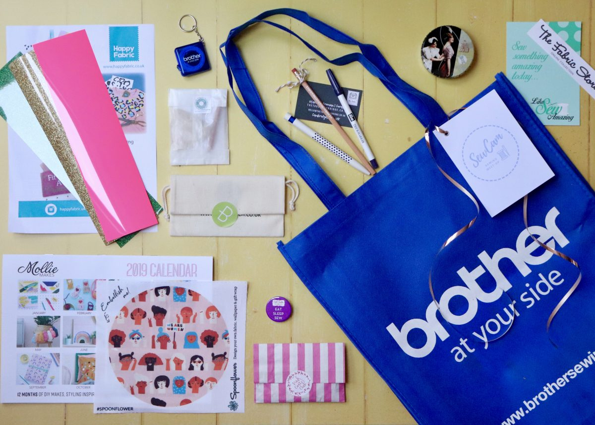 SewCam: The Goody Bag Revealed!