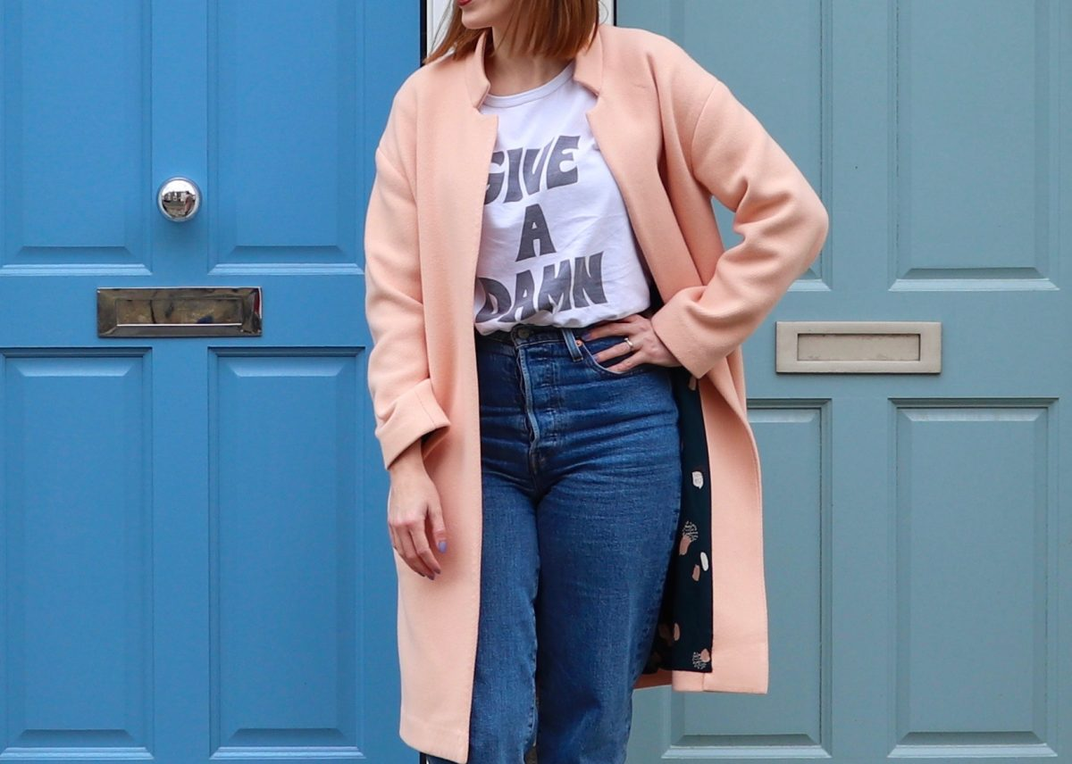 A Peachy Cocoon Coat of Dreams